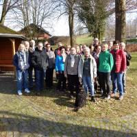 2019-02-17 Auftaktwanderung Driburger Hütte